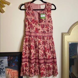 kate spade Paisley Blossom Dress NWT
